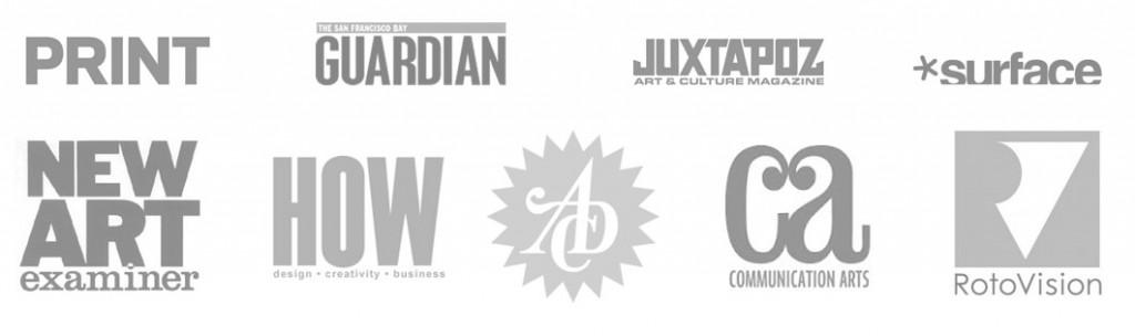 all press logos